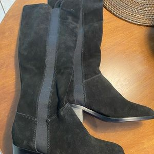 Black Giselle riding boot